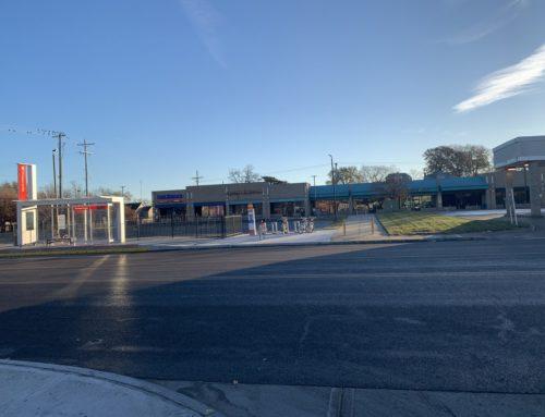 Prospect MAX Bus Rapid Transit Station