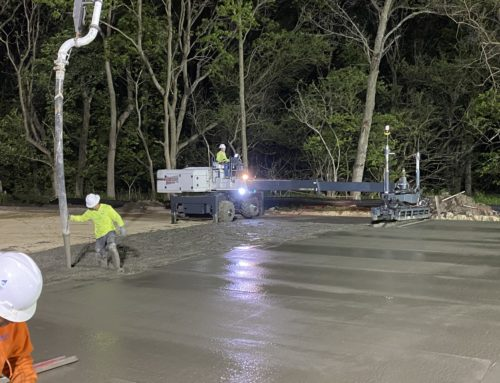 MegaKC completes first laser screed pour